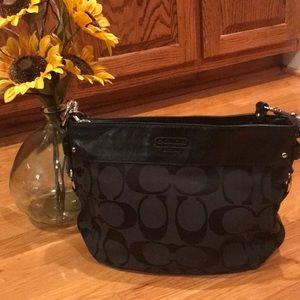Coach Purse - Like New - Black